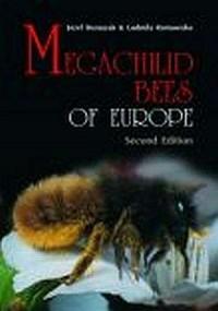 Megachilid Bees of Europe - Józef Banaszak - okładka książki