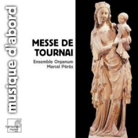 Messe de tournai - Marcel Peres - okładka płyty