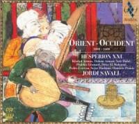 Orient - Occident 1200 - 1700 - Wydawnictwo Alia Vox - okładka płyty