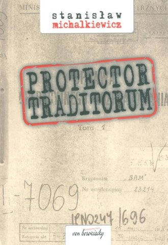 Protector traditorum - okładka książki