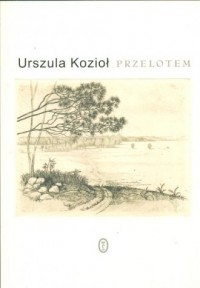 Przelotem - Urszula Kozioł - okładka książki