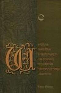 Wpływ tekstów źródłowych - Teresa Maresz - okładka książki