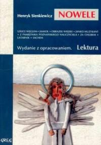 Wybór nowel Henryka Sienkiewicza. - okładka podręcznika