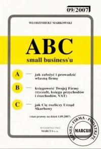 ABC small businessu 01.09.2007 - okładka książki