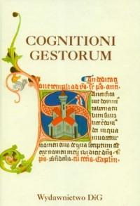Cognitioni gestorum. Studia z dziejów - okładka książki