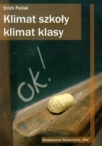 Klimat szkoły, klimat klasy - okładka książki