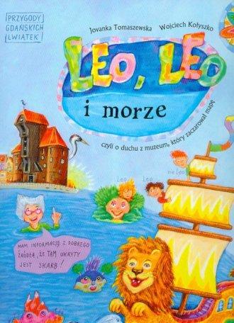 Leo, Leo i morze - okładka książki