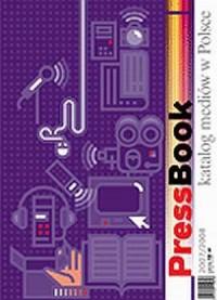 PressBook. Katalog mediów w Polsce 2007/2008 - okładka książki