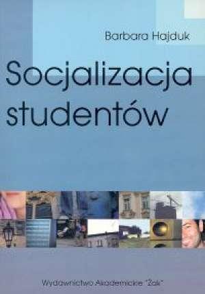 Socjalizacja studentów. Badania - okładka książki