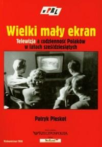 Wielki mały ekran. Telewizja a codzienność Polaków w latach sześćdziesiątych. W PRL - okładka książki