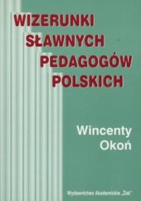 Wizerunki sławnych pedagogów polskich - okładka książki