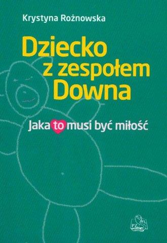 Dziecko z zespołem Downa. Jaka - okładka książki