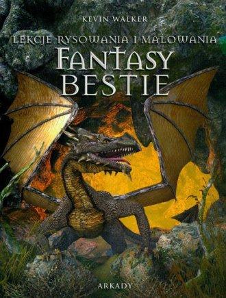 Fantasy bestie. Lekcje rysowania - okładka książki