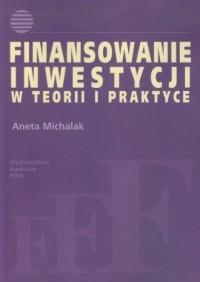 Finansowanie inwestycji w teorii - okładka książki