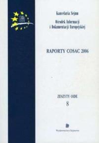 Raporty COSAC 2006. Zeszyty OIDE - okładka książki