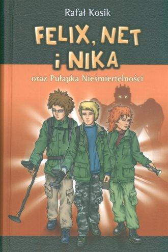 Felix, Net i Nika oraz Pułapka - okładka książki