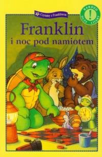 Franklin i noc pod namiotem - okładka książki