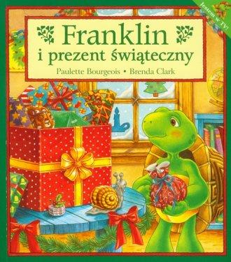 Franklin i prezent świąteczny - okładka książki