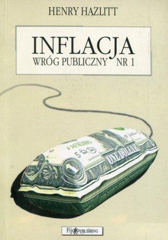 Inflacja. Wróg publiczny nr 1 - okładka książki