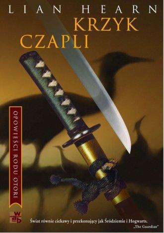 Krzyk czapli - okładka książki