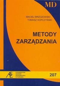 Metody zarządzania - Maciej Brzozowski - okładka książki