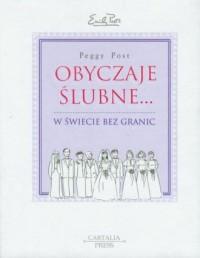 Obyczaje ślubne w świecie bez granic - okładka książki