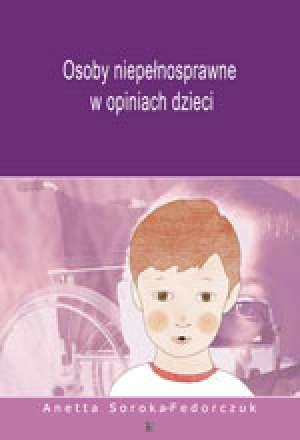Osoby niepełnosprawne w opiniach - okładka książki