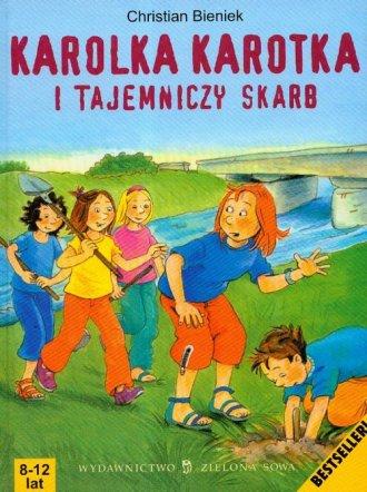 Karolka Karotka i tajemniczy skarb - okładka książki