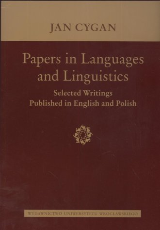 Papers in Languages and Linguistics. - okładka książki