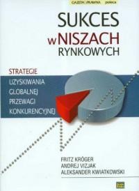 Sukces w niszach rynkowych - okładka książki
