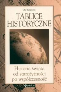 Tablice historyczne. Historia świata od starożytności po współczesność - okładka książki