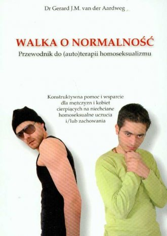 Walka o normalność. Przewodnik - okładka książki