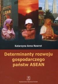 Determinanty rozwoju gospodarczego - okładka książki