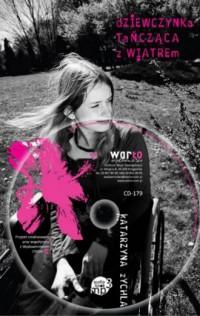 Dziewczynka tańcząca z wiatrem (książka + CD) - okładka książki