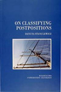 On classifying postpositions - okładka książki