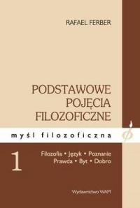 okładka książki - Podstawowe pojęcia filozoficzne.