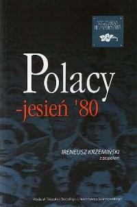 Polacy - jesień 80 - okładka książki