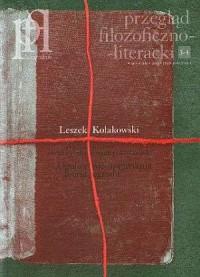 Przegląd filozoficzno-literacki. Leszek Kołakowski 3-4 / 2007 - okładka książki