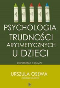 Psychologia trudności arytmetycznych - okładka książki