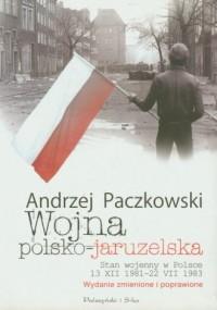 Wojna polsko-jaruzelska - okładka książki