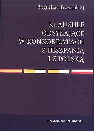 Klauzule odsyłające w konkordatach - okładka książki