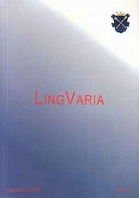 Lingvaria nr 2 (4) 2007 - okładka książki