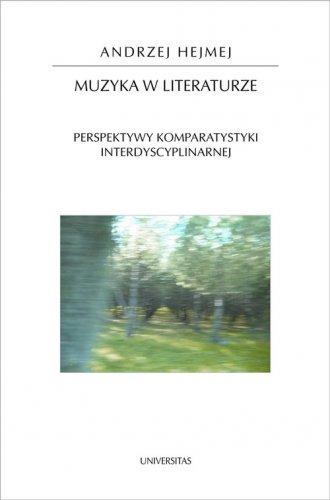 Muzyka w literaturze. Perspektywy - okładka książki