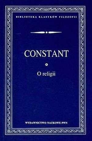 O religii. Seria: Biblioteka klasyków - okładka książki