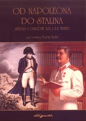Od Napoleona do Stalina. Studia - okładka książki