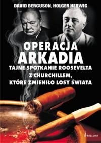 Operacja Arkadia - okładka książki