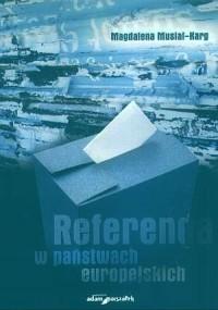 Referenda w państwach europejskich - okładka książki