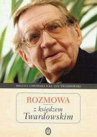 Rozmowa z księdzem Twardowskim - okładka książki
