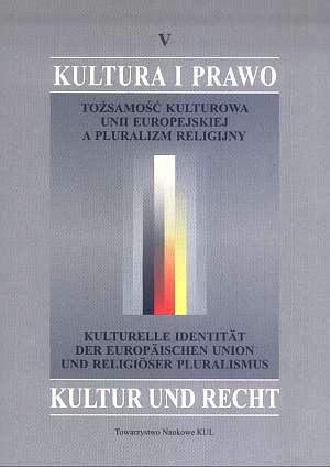 Tożsamość kulturowa Unii Europejskiej - okładka książki