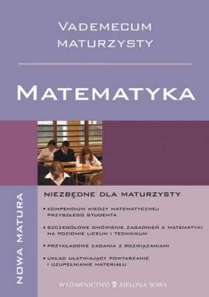 Vademecum Maturzysty. Matematyka - okładka podręcznika